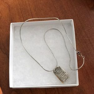 Kathy Bransfield KCB Sterling 925 necklace pendant